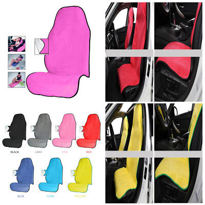Car SUV Truck Bucket Seat Protector Pet Mat Dog Pick Yoga Sweat Towel Seat Pad, used for sale  Shipping to Canada