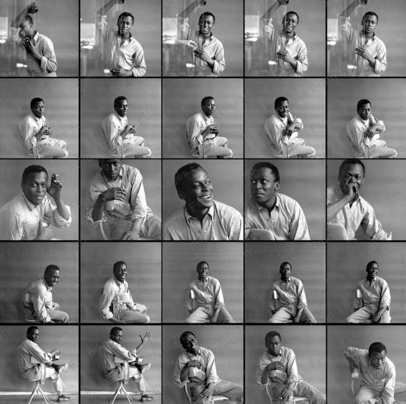 8x10 Print Miles Davis Proof #MD01