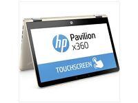 HP Pavilion x360 14-ba150sa laptop in Gold, BNIB