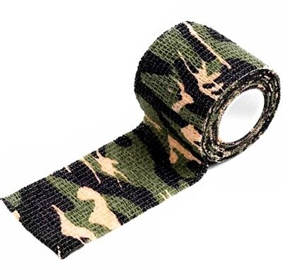 Army Camouflage Klebeband Wasserdicht Camo Isolierband Camping Outdoor Tarn Band