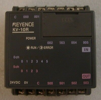 Keyence Kv-10r Small Plc Relay