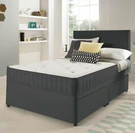 Mega Deal Fast Delivery Full Set Double BED King Bed MATTRESS HEADBOARD Pay on Delivery