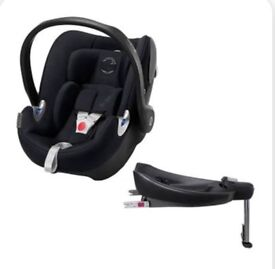 Cyber baby car seat and isofix