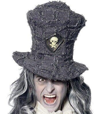 Halloween Kostüm Herren Totengräber Bagger Zylinder Grau Neu von - Bagger Kostüm