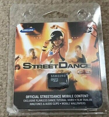 SAMSUNG 1GB MICRO SD CARD MEMORY - OFFICIAL STREET DANCE 3D MOBILE CONTENT Samsung 3d-mobile