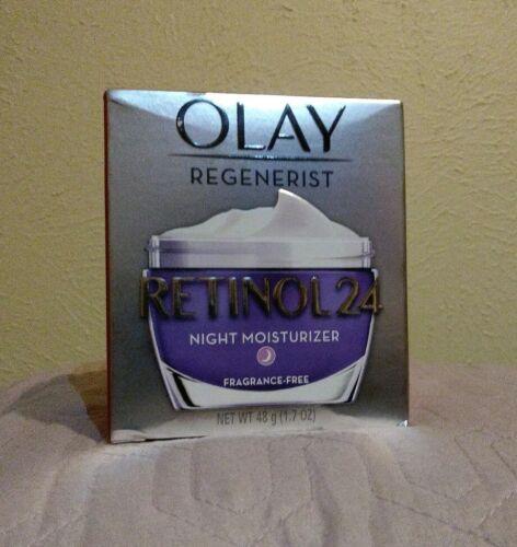 Olay Regenerist Retinol 24 Night Moisturizer  1.7 oz, New In