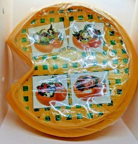 The Head Cheese Co Official Sports Fan Cheesehead Tray for Green Bay Packer Fans