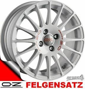 4 x OZ Superturismo WRC Felgen 6,5x15 weiß Felgensatz NEU