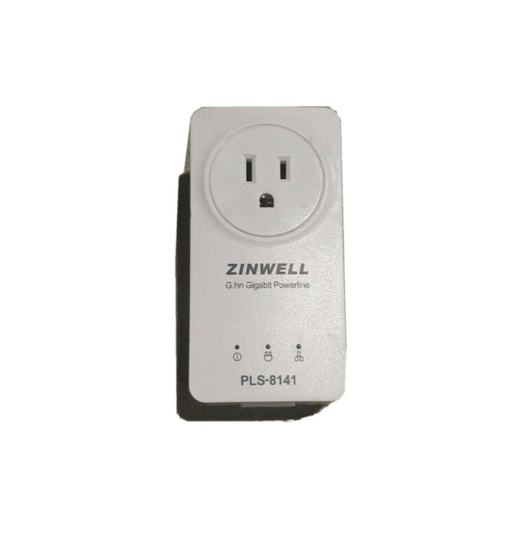Zinwell G.GH Gigabit Powerline Ethernet Adapter PLS-8141 Gigabit Powerline