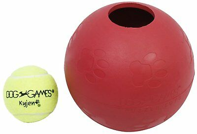 Outward Hound Kyjen 2452 Ball-InBall Dog Toy Interactive Puzzle Rubber Tennis Ba ()