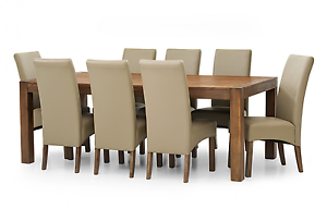 Silverwood 9 Piece Dining Suite Cleveland Redland Area Preview
