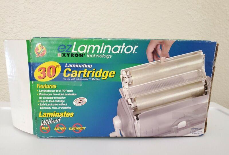 Xyron EZ Laminator 30ft Refill Laminating Cartridge Opened Box