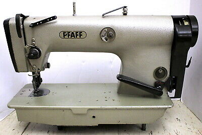 Pfaff 487 Variable Top Feed Lockstitch Industrial Sewing Machine Head Parts Only