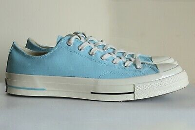 Converse Chuck 70 All Star Ox Shoes , 9.5 Bleached Acqua