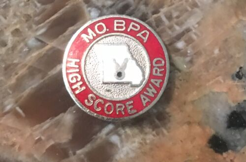 1950s 60s Missouri Pro Bowlers High Score Pin Made In Korea Bowling