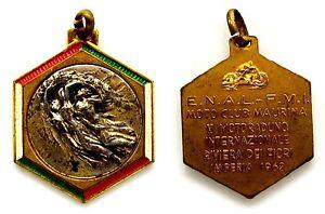Medaglia Con Vernice E.N.A.L.-F.M.I. Imperia 1962 Moto Club Maurina V Motoraduno - Italia - L'oggetto può essere restituito - Italia