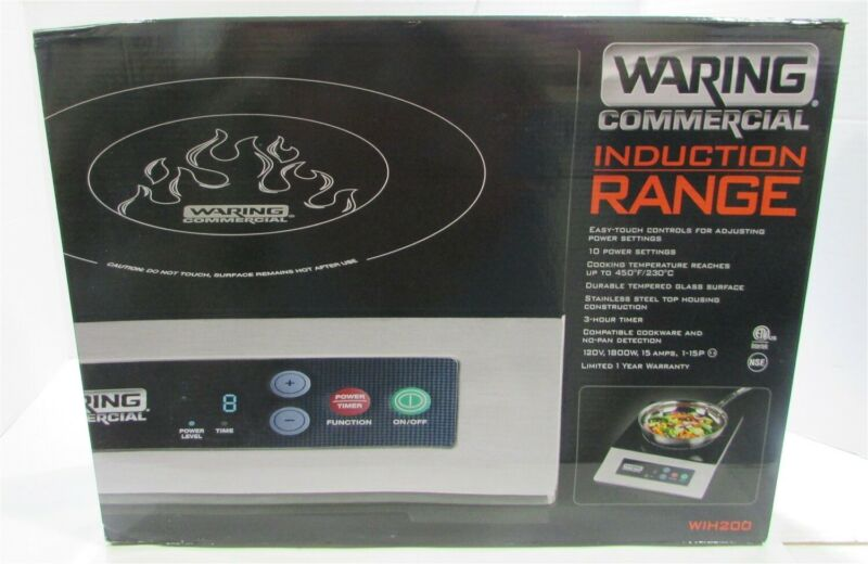 Waring WIH200 Countertop Commercial Induction Cooktop - 120V