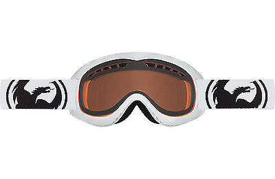 be484d0a1d3 Dragon Alliance DXS Ski snowboard Goggles Dragon Kids Powder Amber 722-5859  NEW