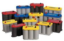Optima Yellow Red Blue Top Batteries BEST PRICES in Ipswich Bundamba Ipswich City Preview