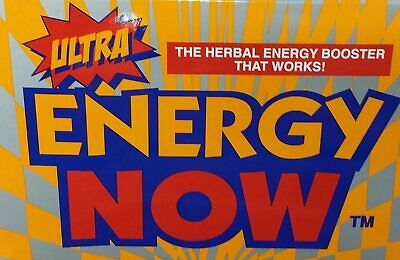 Ultra Energy Now Herbal Boost Supplements 24 packs 72 pills Weight Loss