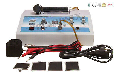 Electric Electrotherapy Ultrasound Therapy Ultrasonic Machine Combo Physio Pgt