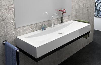 Design Waschtische aufsatzwaschbecken eckig Waschtisch Guss-marmor SQ101058-1