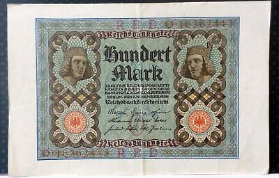 Germany 1920 100 Mark Circulated
