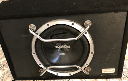 Sony Xplod cd Player Amplifier and subwoofer
