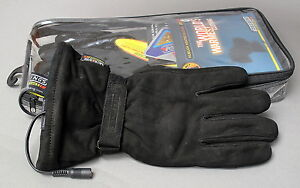 GERBINGS-HEATED-NUBUCK-GLOVES-SIZE-MEDIUM
