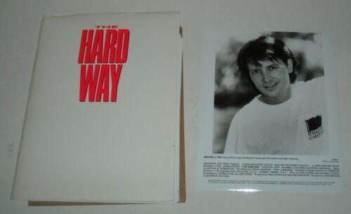 1991 The HARD WAY PROMO MOVIE PRESS KIT 10 PHOTO MICHAEL J FOX JAMES WOODS