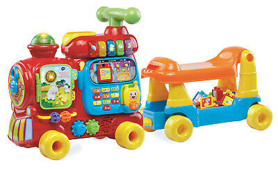 BRAND NEW - VTech, Sit-to-Stand Ultimate Alphabet Train, Ride-On Train Toy