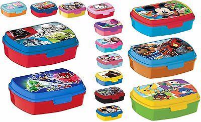 porta PRANZO MERENDA LUNCH BOX scatola colazione sandwich scuola,asilo bambini