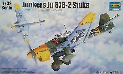 TRUMPETER® 03214 Junkers Ju87B-2 Stuka in 1:32