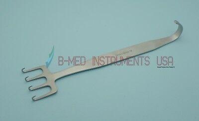 Or Grade Freeman Face Lift Retractor 7 X 1 12 4 Sharp Prongs Plastic Surgery