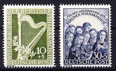 Berlin 1950  MiNr. 72-73 (*) Nachdruck, Fälschung