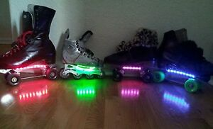 Ice skate lights