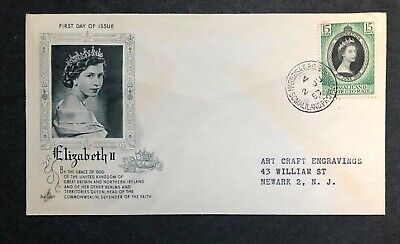 Somaliland Protectorate 1953 Coronation FDC First Day cover