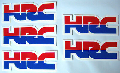 5 Honda Hrc Decal Decals Sticker Stickers Graphics Crf Cr Xr Cbr New