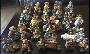 ASSORTED BOYD'S BEAR FIGURINE COLLECTIONS