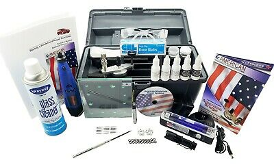 Windshield Repair Kit auto glass rock stone chip ding repair system by American