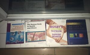 Personal support worker textbooks