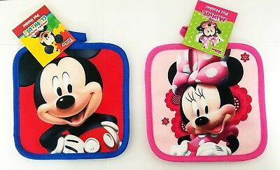 LOT of Disney Mickey and Minnie Mouse Pot Holder Kitchen Dish Home Decor Hot NEW](Mickey And Minnie Mouse Decorations)