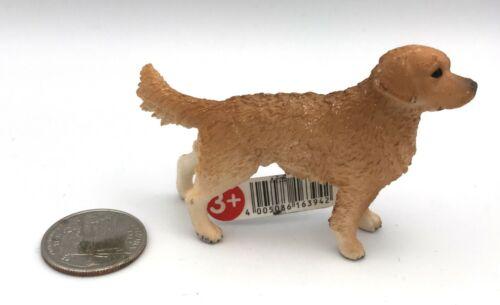 Schleich Dog MALE GOLDEN RETRIEVER 2013 Figure 16394 HTF!