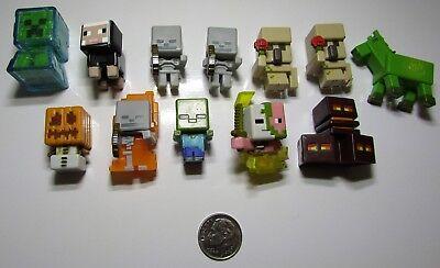 Minecraft Minifigures Lot
