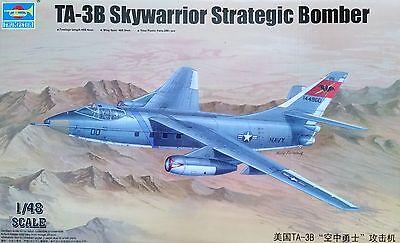 TRUMPETER® 02870 TA-3B Skywarrior Strategic Bomber in 1:48