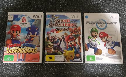 Mario Wii Games