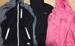 Under Armour Jacket & Two hoodies