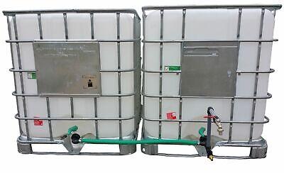 Ibc Connector Rain Tank Connector 2-fach + Swan Neck Dn 80