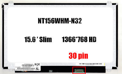 NT156WHM-N32 New Replacement LCD Screen for Laptop LED HD -