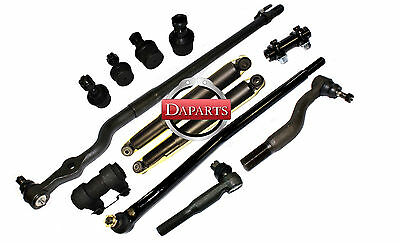 FORD F250 HD Steering Center Link Drag Link Tie Rods Ball Joints Shock Absorber